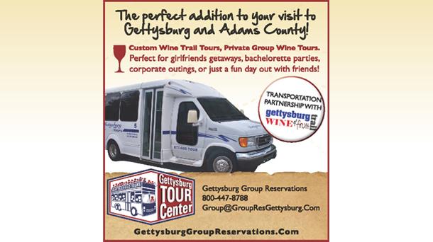 Gettysburg Battlefield Tours Bus flyer