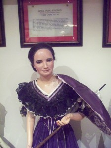 Mary Lincoln Wax Figure