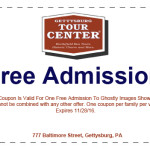 free admission coupon