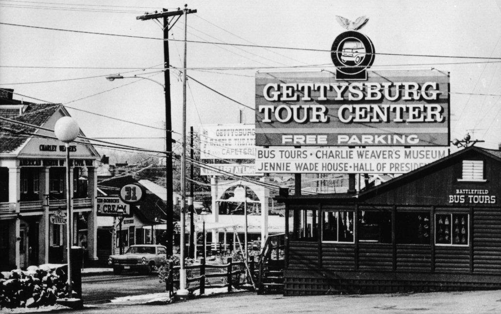 gettysburg tour center 1960s/70s era