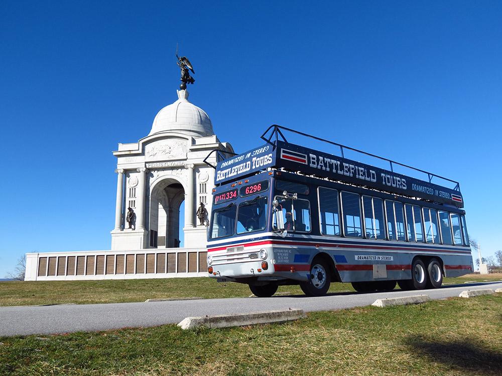 Bus Tours In Gettysburg Pennsylvania