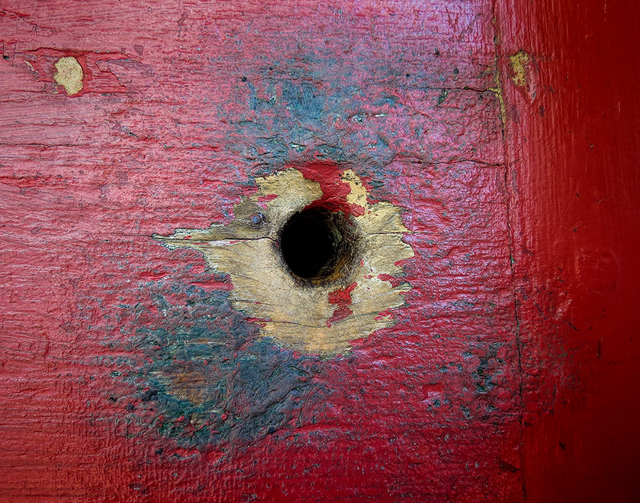 jennie wade door with bullet holes