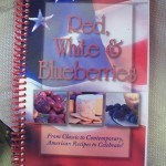 Red, White & Blueberries Cookbook
