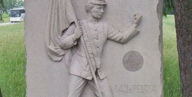 The Monument of Sergeant Ben Crippen