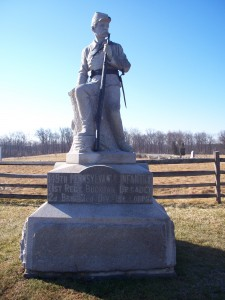 The Bucktail Brigade 2.0 monument