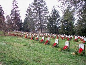 national cemetery wreaths