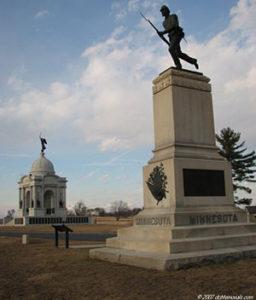 First Minnesota monument
