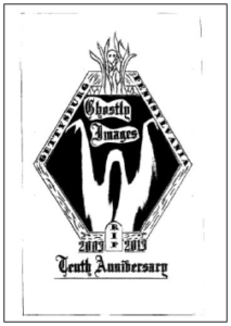 ghostly images 10th anniversary logo