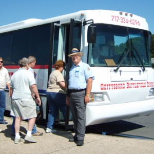 Air-Conditioned Coach – Gettysburg National Military Park Licensed Guide