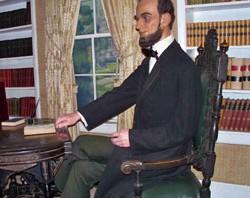 Wax Abe Lincoln