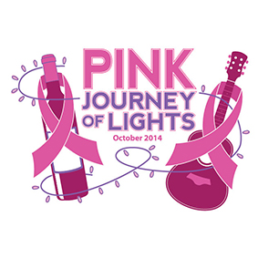Pink Journey of Lights