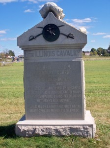 8th Illinois Calvary Front