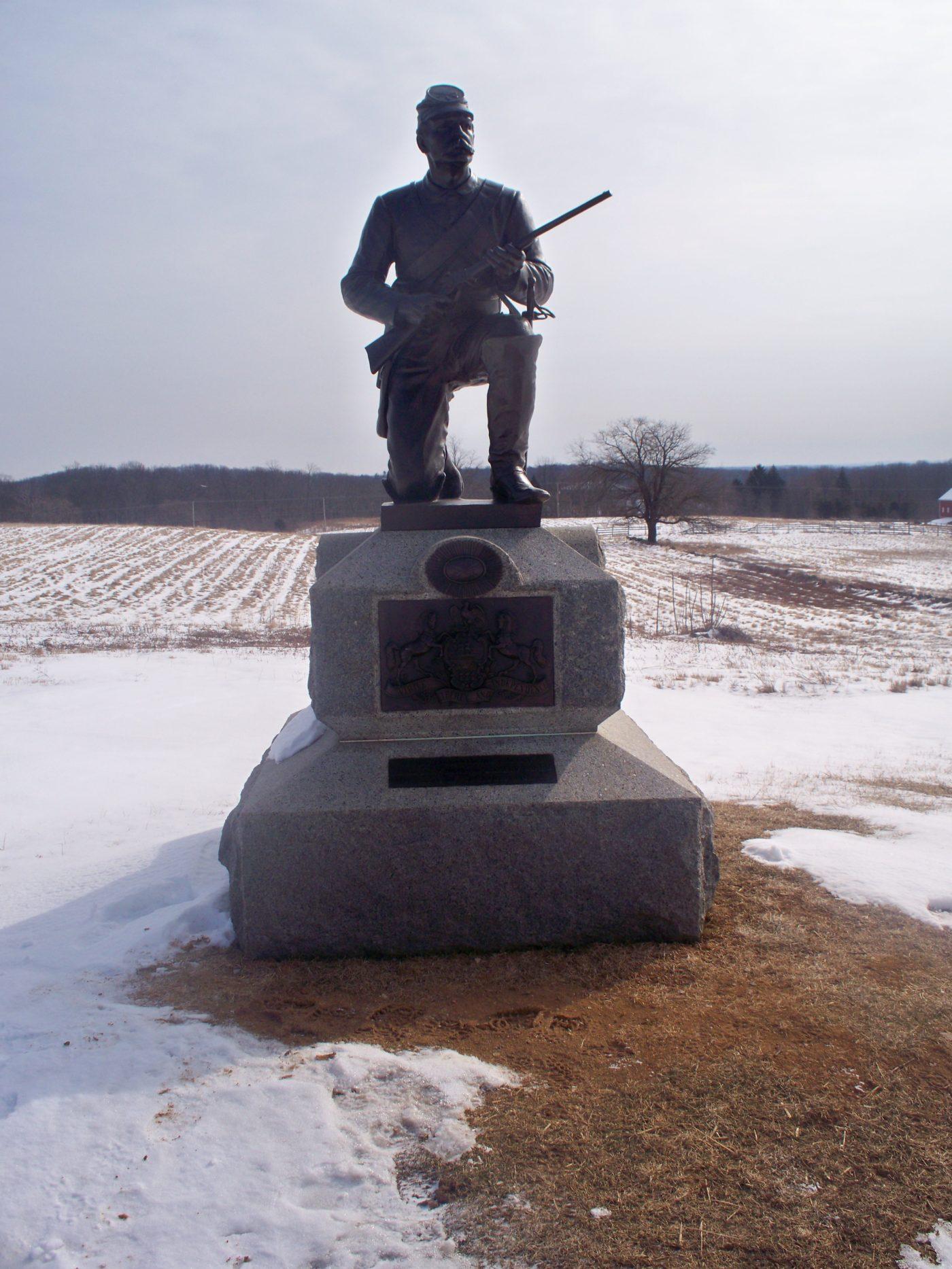 Private Joseph Lindemuth, Company L, 1st Pennsylvania Cavalry