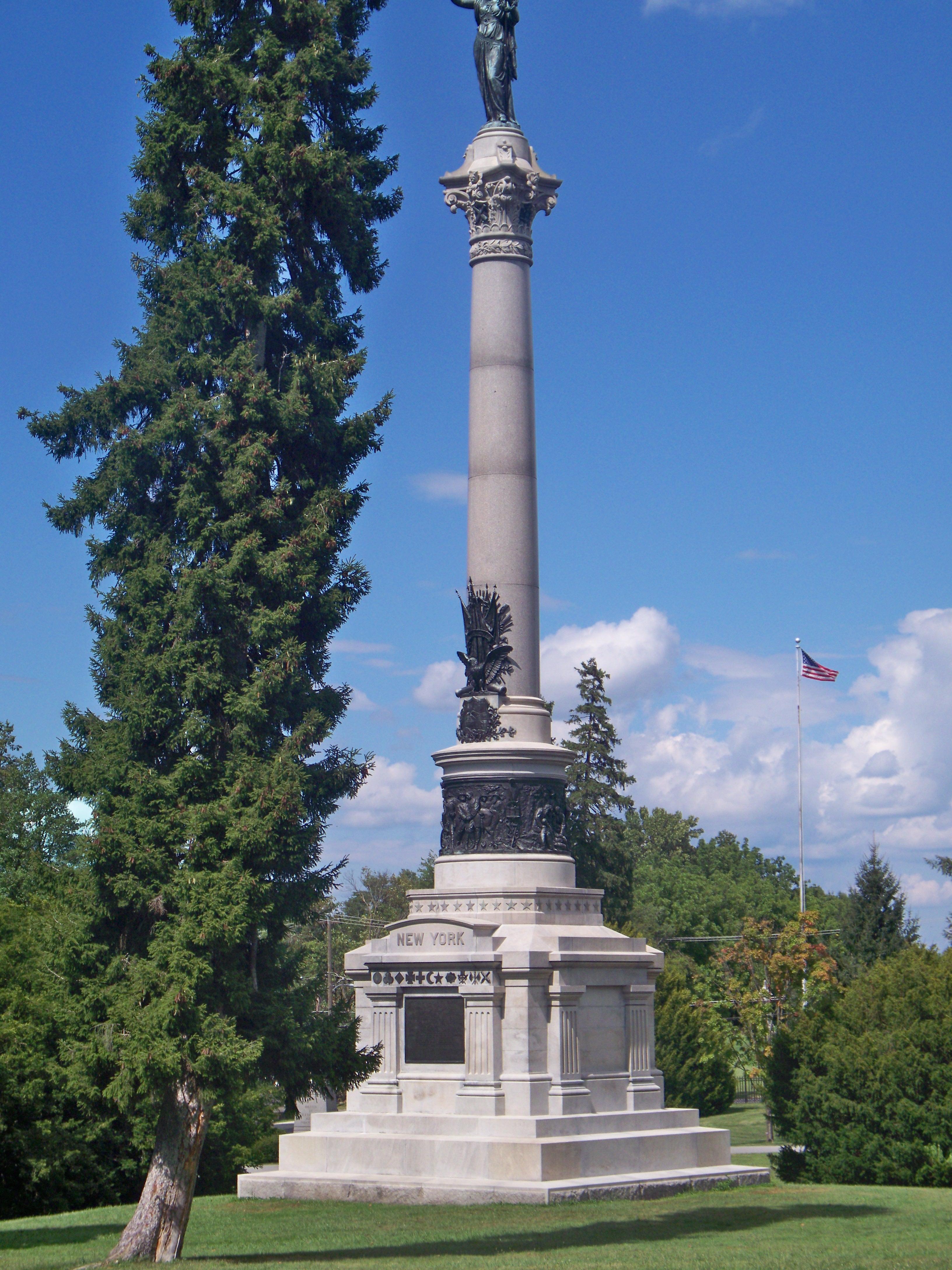 New York State Monument Gettysburg Battlefield Tours