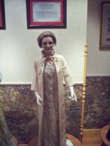 Nancy Reagan Wax Figure