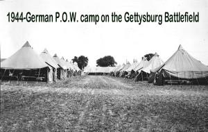 1944 German POW camp gettysburg battlefield