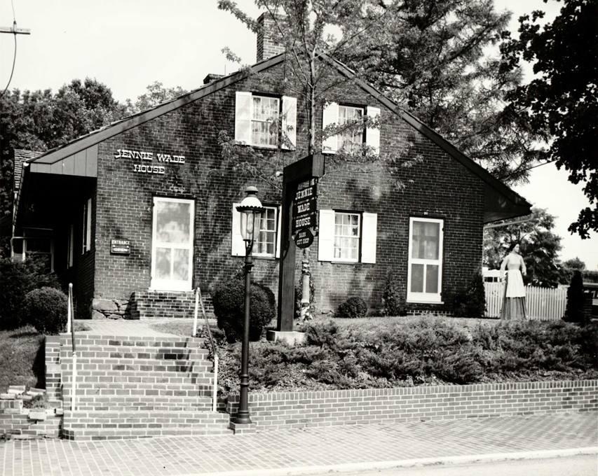 jennie wade house exterior