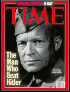 eisenhower time cover for the man who beat hitler