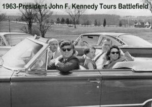 1963 JFK in gettysburg