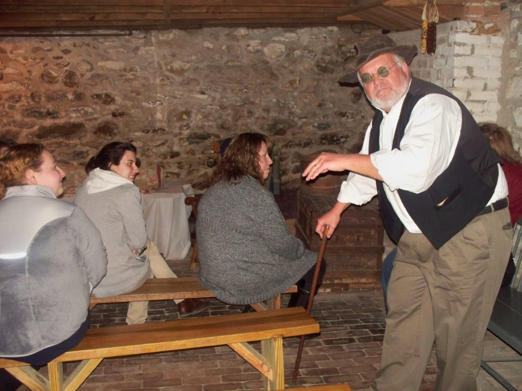 a guide for our ghostly encounters tours