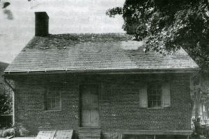 old photo of the jennie wade house