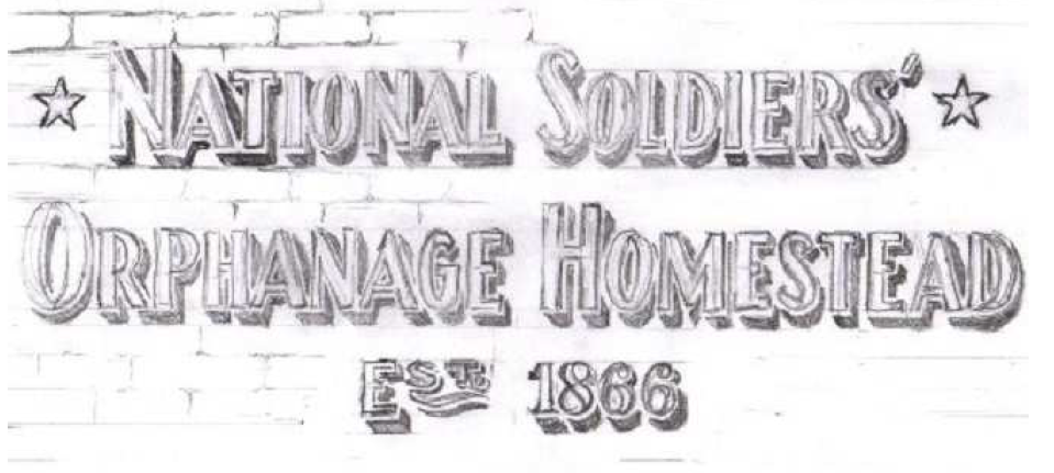 national soldiers orphanage homestead mural