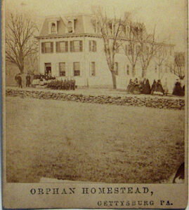 orphan homestead, Gettysburg PA