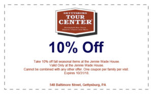 10 off fall items jennie wade