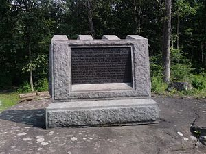 2nd Massachusetts Infantry Monument