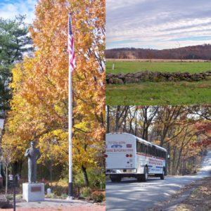 fall scenery in gettysburg