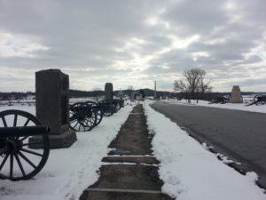 gettysburg winter