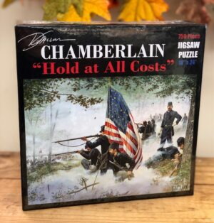 """Chamberlain """"Hold at All Costs"""" 750 piece puzzle box"""