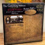 Gettysburg Address 750 piece puzzle box
