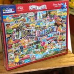 Iconic America 1000 piece puzzle box