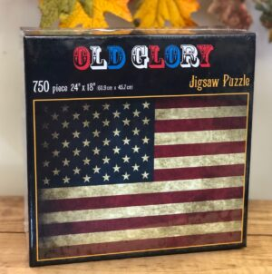 Old Glory 750 piece puzzle box