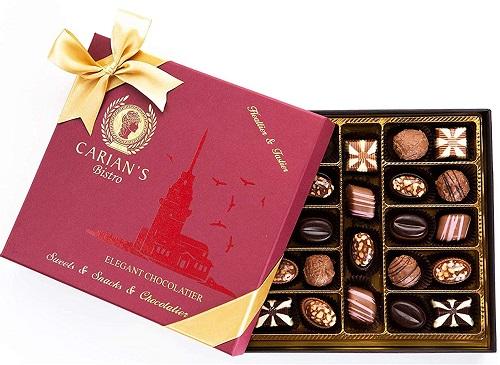 assorted chocolates gift box
