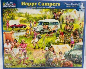 happy campers 1000 piece puzzle box